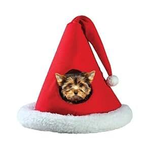 Santa-Hat Pet Bed