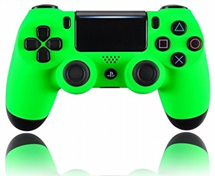 Soft Neon Custom PS4 PRO Rapid Fire Custom Modded Controller 40 Mods for All Major Shooter Games (Ps4 Custom Controller Modded)