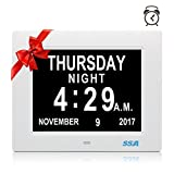 SSA Digital Calendar Days Clock