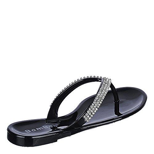 Sandalo Di Bambù Hawaii-16 Nero