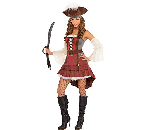 Amscan Adult Castaway Pirate Costume - Medium