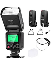 Neewer NW635 TTL GN58 Flash with 2.4G 16-Channel Flash Trigger and Soft Diffuser,Compatible with Sony MI Hot Shoe Cameras A9II A9 A7RIV/III A7III/II A7SII A6600 A6500 A6400 A6300 A6000 A77II