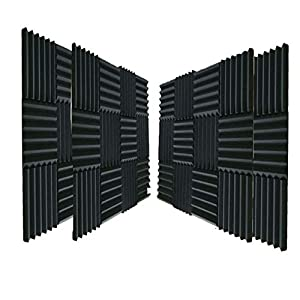48 Pack Acoustic Panels Soundproof Studio Foa...