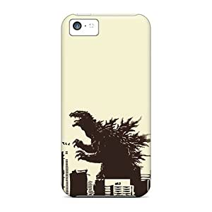 Quality CaroleSignorile Cases Covers With Godzilla Nice Appearance Compatible With Iphone 5c wangjiang maoyi wangjiang maoyi by lolosakes