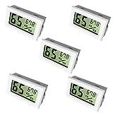 Best Home Thermometers - Newlight66 Humidity Gauge, Digital Hygrometer Indoor Outdoor Hygrometer Review