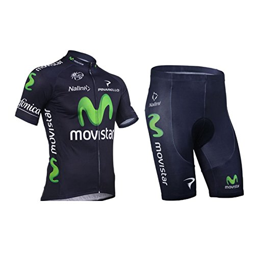 769fa8446 Galleon - 2013 Movistar Cycling Jersey+Shorts+Cap+Gloves (XS)
