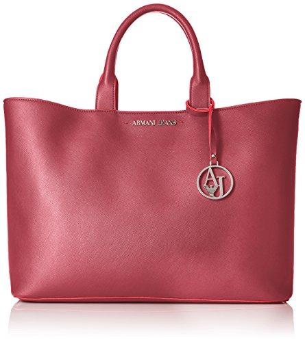 ARMANI JEANS woman shopping bag 922532 CC856 00176 BORDEAUX UNICA Bordeaux
