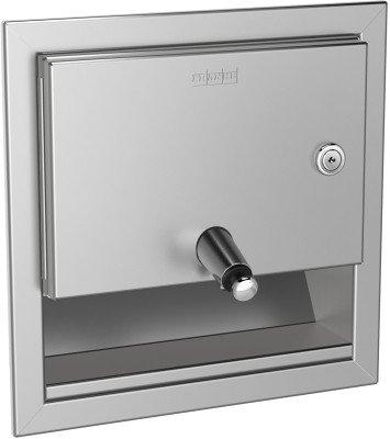 Franke RODX619E dispensador de jabón para montaje empotrado en acero inoxidable