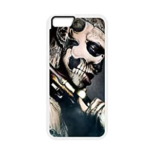iPhone 6 4.7 Inch Cell Phone Case White Skeleton Boy Ivuss