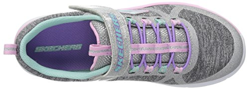 Skechers Kids Girls' Trainer LITE- Jazzy Jumper Sneaker, GYMT, 13 Medium US Little by Skechers (Image #8)