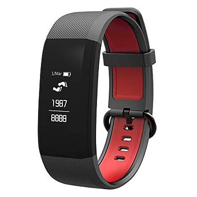 Lynn025Keats FIT48 Smart Bracelet Fitness Tracker waterproof Smart Wristband Heart Rate Monitor Tracker Blood Oxygen Sport Smart Band Estimated Price £26.72 -