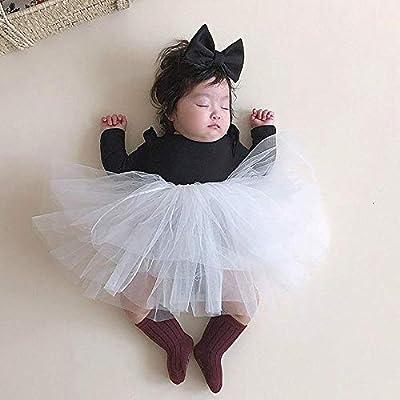 HONGHUIYANG La ropa del bebé, la niña de la princesa de arrastre ...