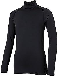 Boys' Cold Weather Compression Mockneck Long Sleeve Shirt