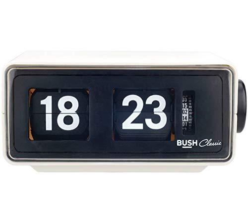 Buy Classic Flip Radio alarm clock by Bush Classic