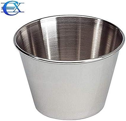 EUROXANTY/® Formen  Aus rostfreier Stahl 6-teiliges Set f/ür Nachtische und Gebacke /Ø7 cm