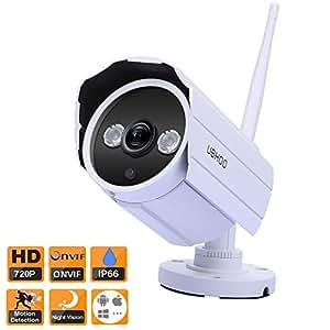 Amazon Com Uokoo Bullet Ip Camera Builtin 8gb Rom Hd