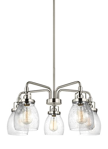 Sea Gull Lighting 3114505-962 5LT Chandelier, Brushed Nickel