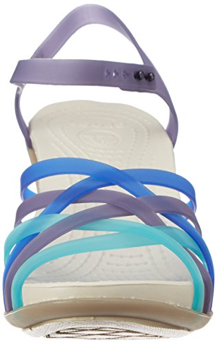 Crocs Womens Huarache Wedge Nautical Navy / Mushroom OzRrvGIlBI