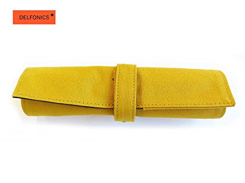 Roll-Up Pencil Case EN76 YELLOW