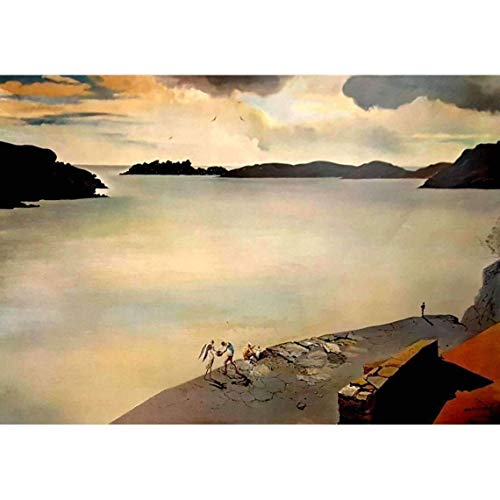 Salvador Dali The Landscape of Port Lligat 1950 Original Lithograph