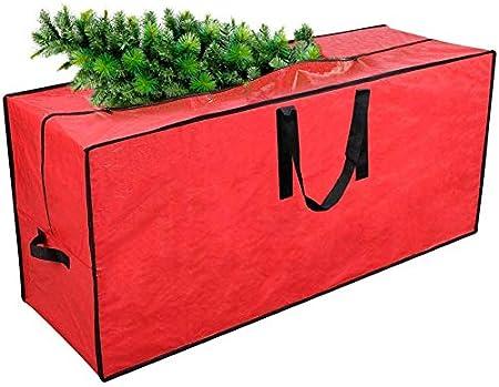 """AlfaView Bolsa de Almacenamiento para Árbol de Navidad , Ligera e Impermeable Bolsa de Almacenamiento Grande para Guardar Cojín Muebles Otros Accesorios de Jardín Patio(45"""" x 15"""" x 20""""): Amazon.es: Hogar"""