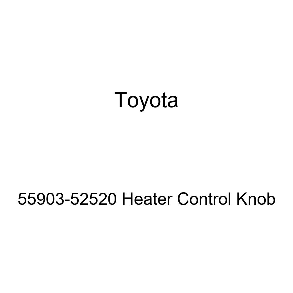 Toyota 55903-52520 Heater Control Knob