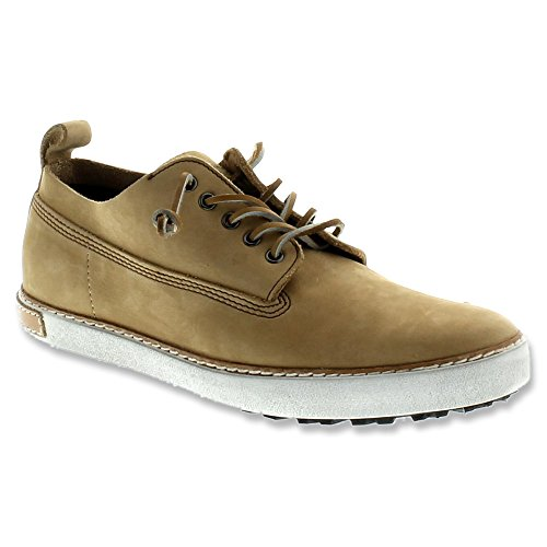Blackstone Heren Otto Leather Lace-up Off White