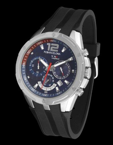 Viceroy 432617-35 - Reloj Cronógrafo FC Barcelona Unisex azul: Amazon.es: Relojes