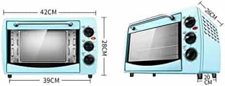 MTG Horno eléctrico mini-horno multifuncional de 20 litros para el ...