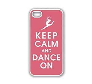 iPhone 5 Case White ThinShell Case Protective iPhone 5 Case Keep Calm Dance On