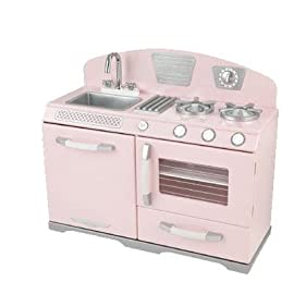 KidKraft Retro Kitchen without Refrigerator (Pink) | Compare Prices, Set  Price Alerts, and Save with GoSale.com