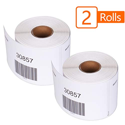 Name Dymo Label Badge (DYMO Compatible 30857 Direct Thermal Shipping Labels, Replacement Name Tag Badge Labels (2-1/4