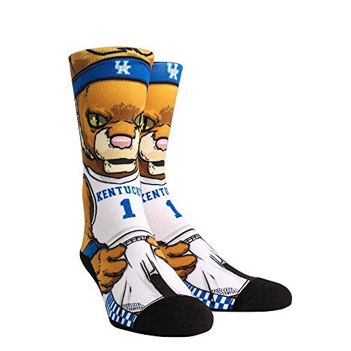 NCAA Super Premium College Fan Socks (L/XL, Kentucky Wildcats - Mascot)