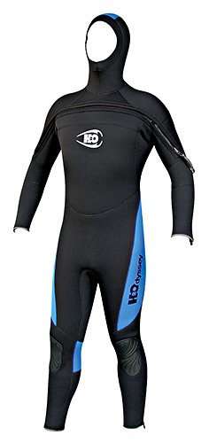 8211e4ef39 Amazon.com  H2ODYSSEY Men s 7mm Coronado Hooded Wetsuit Front Zip ...