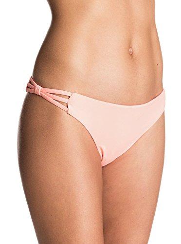 Roxy Women's Strappy Me Surfer Bikini Bottom, Candied Orange,