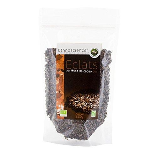 Trocitos de Habas de cacao orgánica (trocitos de semillas de cacao) - variedad Cacao