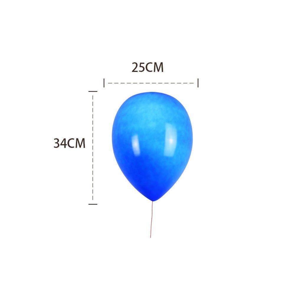 GBT Moderne einfache kreative Persönlichkeit Schlafzimmer Farbe Ballon Kinderzimmer Deckenleuchte,Blau-15CM B076KK9KBF | Verbraucher zuerst