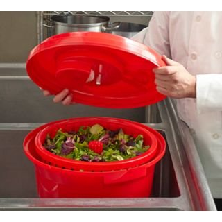 Chef-Master 90008 Professional Economy Salad Dryer, 5 gallon, Red by Chef-Master