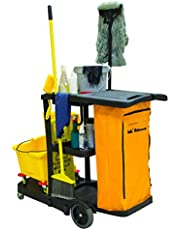 RMP Maintenance Janitor Cleaning Cart, 1 Count, JG813