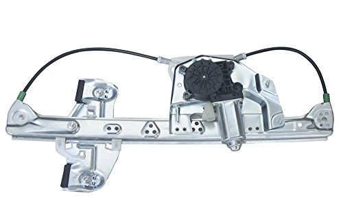 VioGi Fit Rear Driver (left) Side Power Window Regulator w/ Motor For 00-05 Cadillac DeVille ()