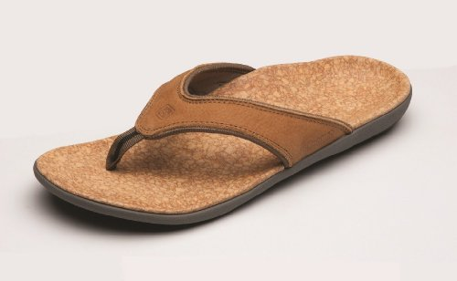 Spenco Men's Yumi Leather Sandal, Black 13M Medium US by Spenco (Image #3)