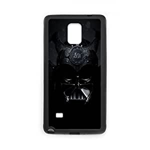 Samsung Galaxy Note 4 Cell Phone Case Black Black Skull Mask FXS_531789