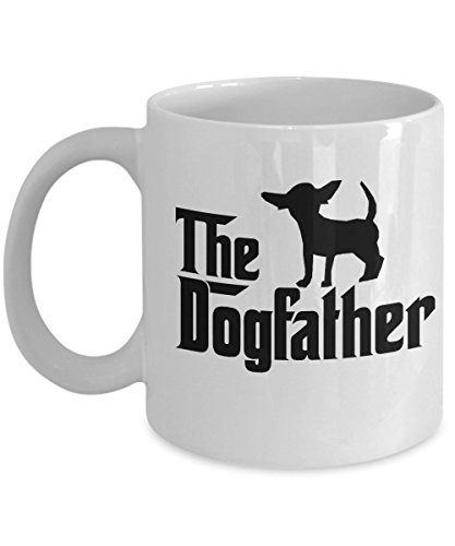 g father chihuahua dad mug,dog father chihuahua travel mug (Chihuahua Travel Mug)