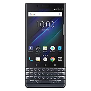 BlackBerry KEY2 LE (Lite) Dual-SIM (64GB, BBE100-4, QWERTZ Keypad) (GSM Only, No CDMA) Factory Unlocked 4G Smartphone (Space Blue) - International Version
