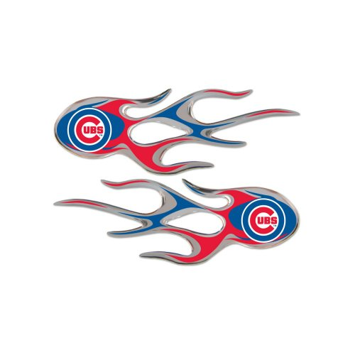 MLB Chicago Cubs Micro Flame Graphics Decal (Pack of - Cubs Stick Big Chicago