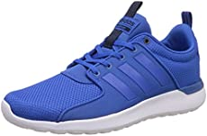 adidas Cloudfoam Lite Racer Shoes - Mens - Blue Collegiate Navy - UK Shoe  Size 9 a907e4d5e