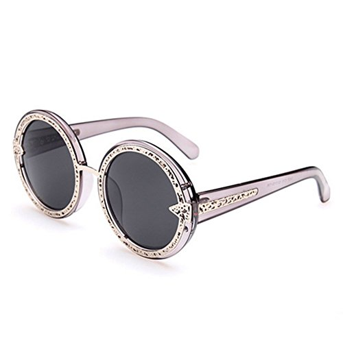 MosierBizne New Womens Fashion Sunglasses Metal Tip Hollow - How Face To On Glasses Tighter Make