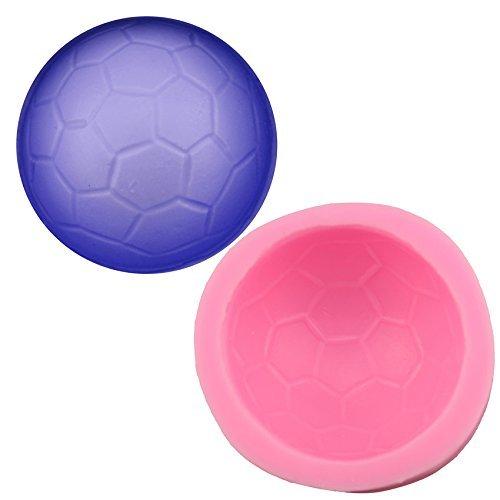 Molde 3D de silicona Clest F&H en forma de balón de fútbol para ...