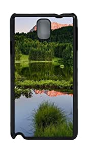 World Magical Landscape Green PC Case and Cover for Samsung Galaxy Note 3 Note III N9000 Black