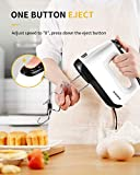 SHARDOR Hand Mixer with Snap-On Storage Case